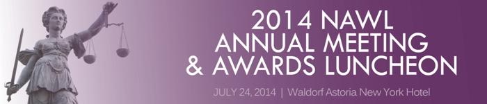 NAWL : 2014 Annual Meeting & Awards Luncheon : Agenda