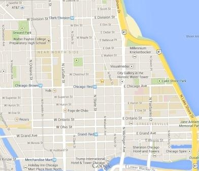 NAWL : 2014 Pipeline to Equity Partnership : Venue  Bus Route Map Chicago on