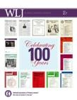 WLJ Vol 96 No 4 Cover